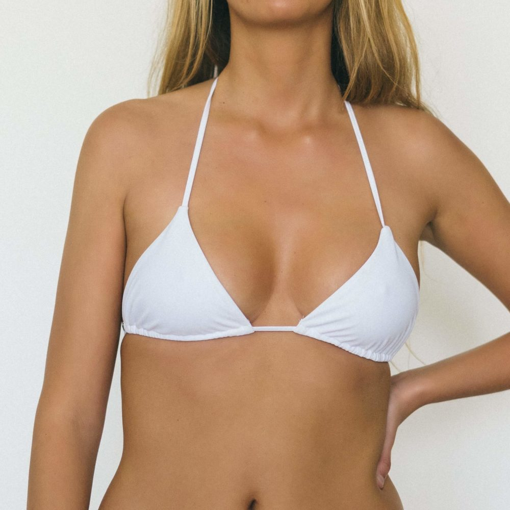 sustainable swimwear white