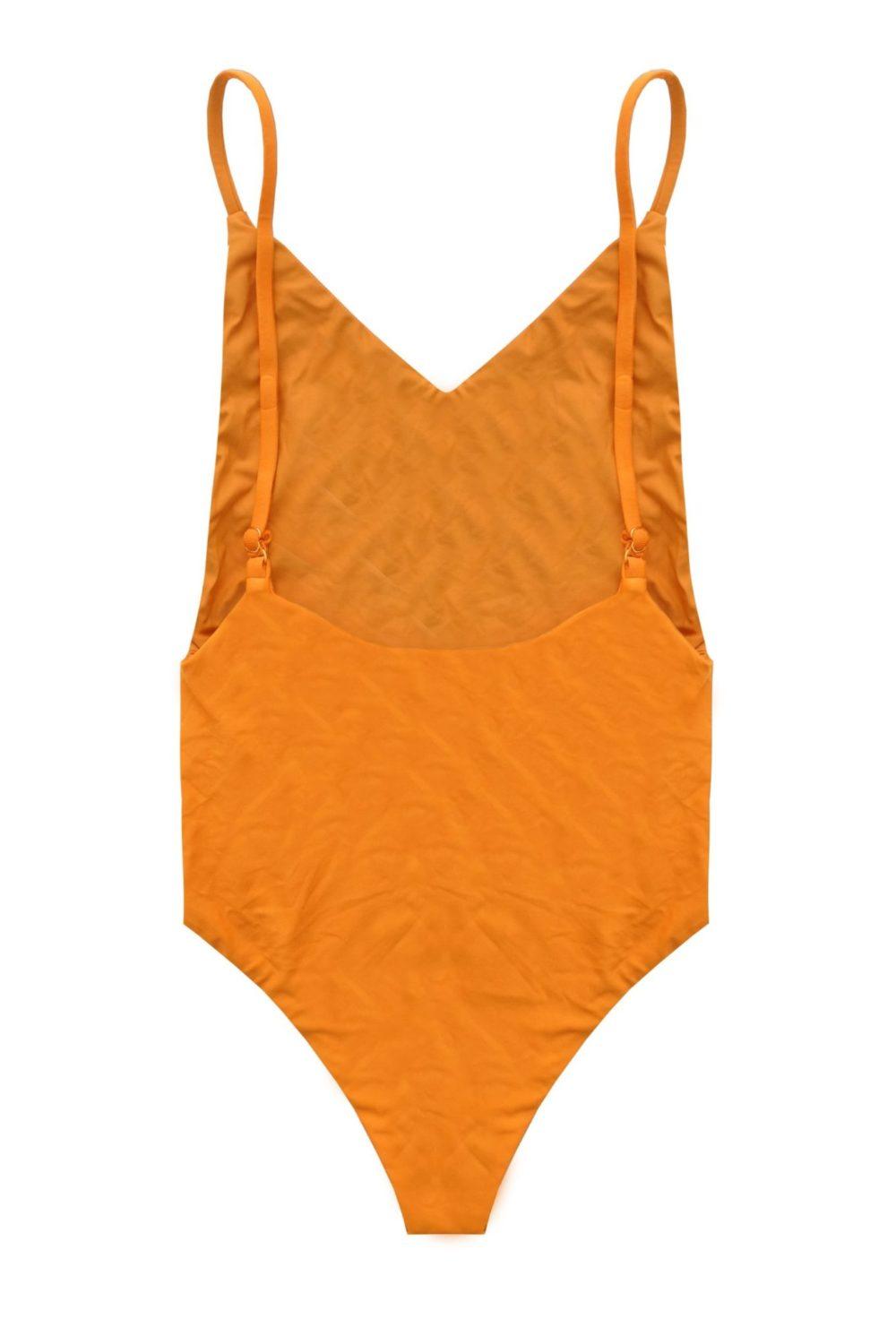 sustainable swimwear peach